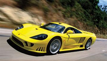 Самые быстрые спортивные автомобили