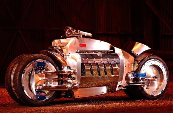 Самый быстрый мотоцикл – Dodge-Tomahawk