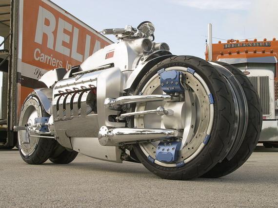 Самый быстрый мотоцикл – Dodge Tomahawk