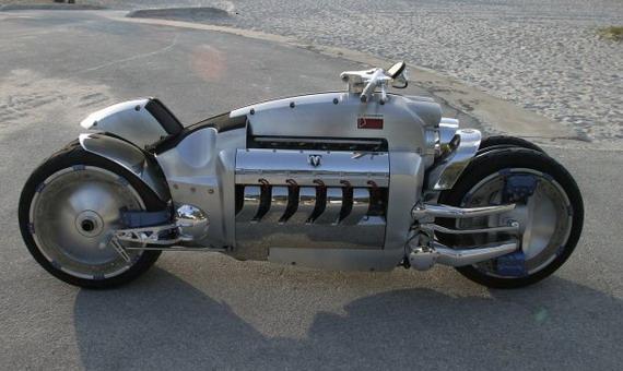 Самый быстрый мотоцикл – Tomahawk